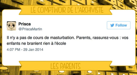 Image de couverture de l'article : Le Comptwoir de l'Archiviste | Les Parents