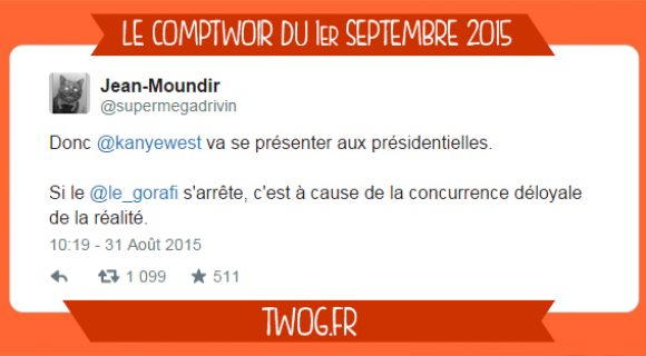 Image de couverture de l'article : Le Comptwoir du 1er septembre 2015