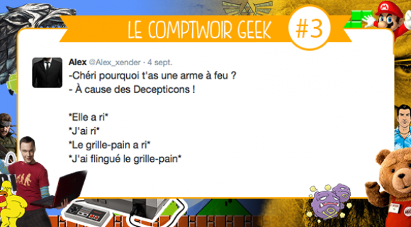 Image de couverture de l'article : Le Comptwoir Geek #3