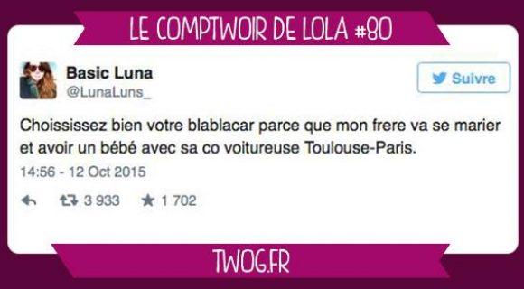 Image de couverture de l'article : Le Comptwoir de Lola #80