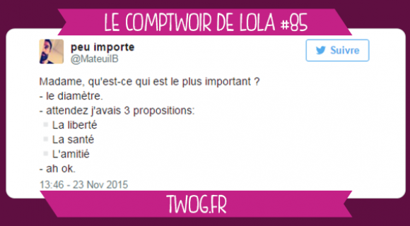 Image de couverture de l'article : Le Comptwoir de Lola #85