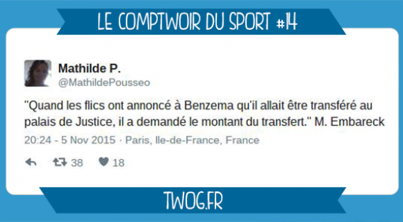 Image de couverture de l'article : Le Comptwoir du Sport 14