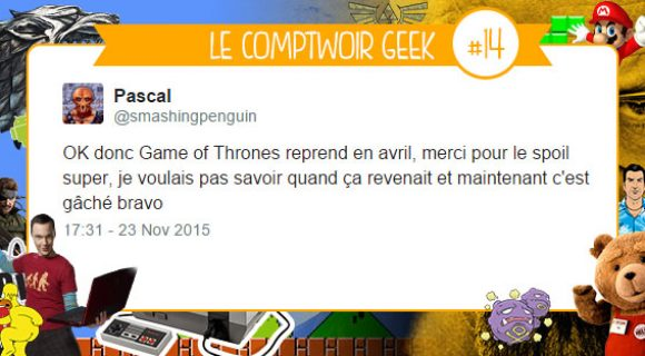 Image de couverture de l'article : Le Comptwoir Geek #14