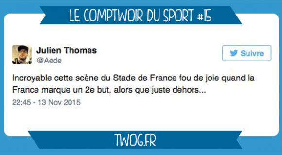 Image de couverture de l'article : Le Comptwoir du Sport 15