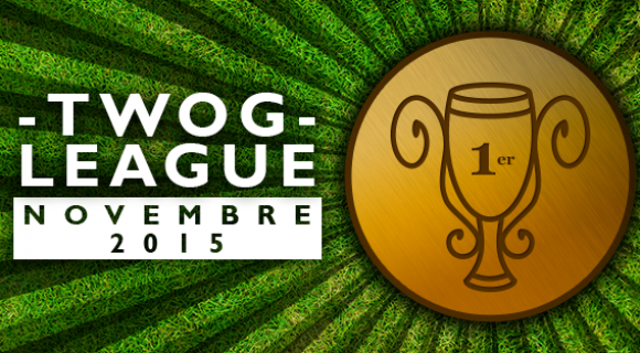 Image de couverture de l'article : Twog League : le top 50 de novembre 2015