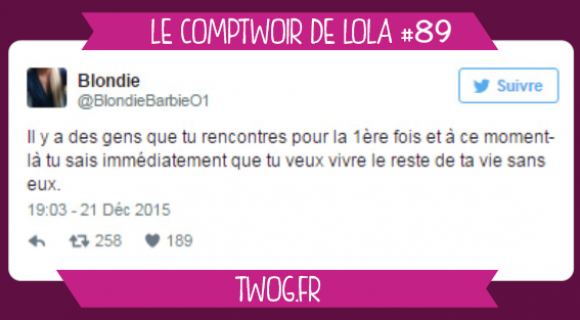 Image de couverture de l'article : Le Comptwoir de Lola #89