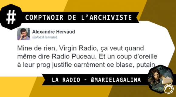 Image de couverture de l'article : Le Comptwoir de l'Archiviste | La Radio
