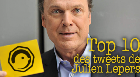 Image de couverture de l'article : Top 10 des tweets de Julien Lepers !