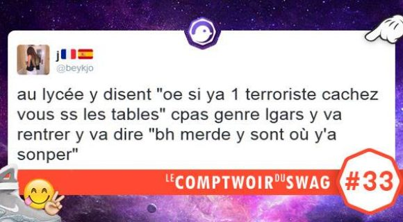 Image de couverture de l'article : Le Comptwoir du Swag #33