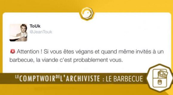 Image de couverture de l'article : Le Comptwoir de l'Archiviste | Le barbecue