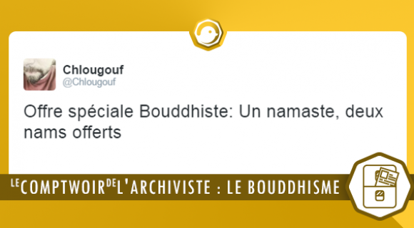 Image de couverture de l'article : Le Comptwoir de l'Archiviste | Le Bouddhisme