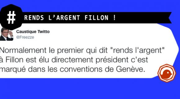 Image de couverture de l'article : Fillon rends l'argent !