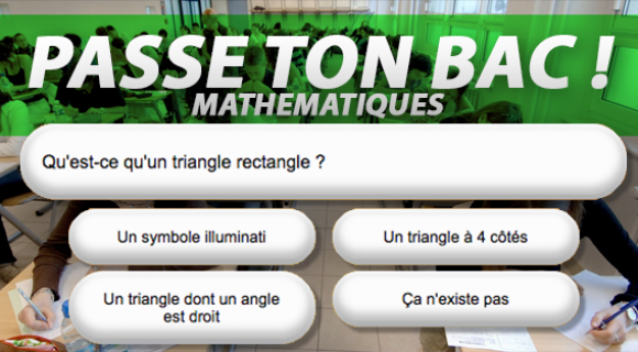 Image de couverture de l'article : Passe ton bac de maths !