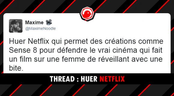 Image de couverture de l'article : THREAD : Huer Netflix