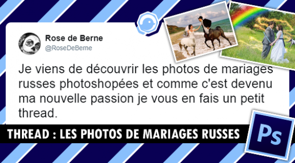 Image de couverture de l'article : THREAD : Photos de mariages russes photoshopées