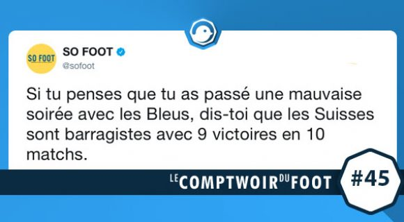 Image de couverture de l'article : Le Comptwoir foot #45