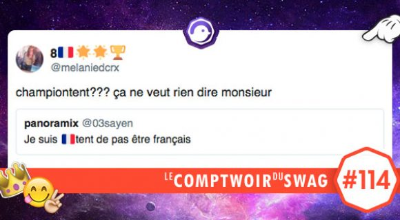 Image de couverture de l'article : Le Comptwoir du Swag #114