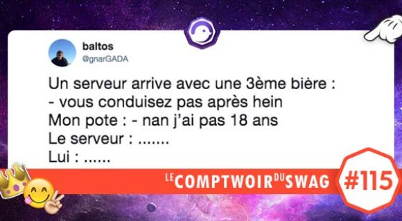 Image de couverture de l'article : Le Comptwoir du Swag #115