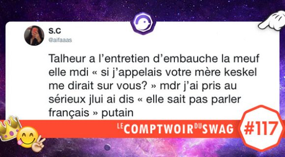 Image de couverture de l'article : Le Comptwoir du Swag #117